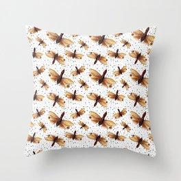 Cicada Throw Pillow