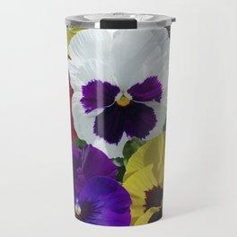 Pansies! Travel Mug