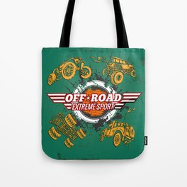 Offroad Extreme Sport Tote Bag