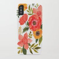 oana befort iPhone & iPod Cases featuring FLOWER POWER by Oana Befort