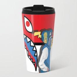 bape shark.pokemon Travel Mug