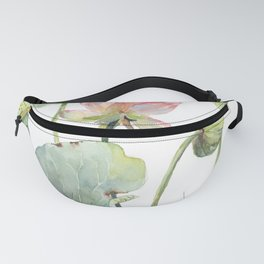 Lotus Home for a Little Mouse Fanny Pack