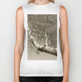 Birch tree #01 Biker Tank