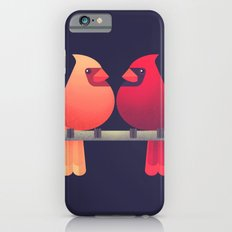 Northern Cardinals on a Japanese Maple Slim Case iPhone 6s