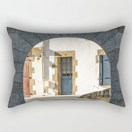 The Arch and the House Rectangular Pillow