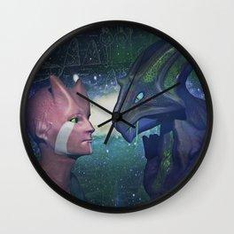 Supernatural  love Wall Clock