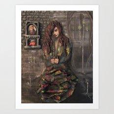Blood Gypsy Art Print