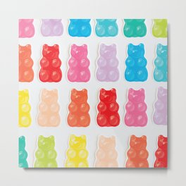 Gummy Bears Metal Print