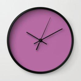 PANTONE 17-3240 Bodacious Wall Clock