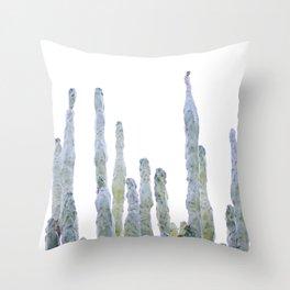 Cactus tops Throw Pillow
