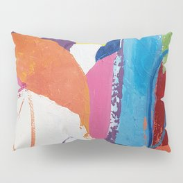 Vibrant Loopy Abstract Pillow Sham