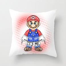 It's ME, Mario !  Throw Pillow