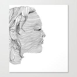 Linearity Canvas Print