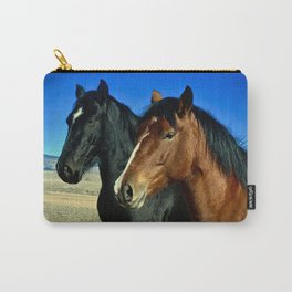 A Couple of Ponys Carry-All Pouch