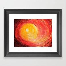 INTO THE LIGHT Framed Art Print