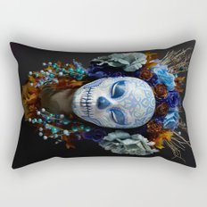Berry Harvest Muertita Rectangular Pillow