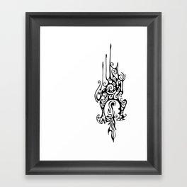 Dragon Head Framed Art Print