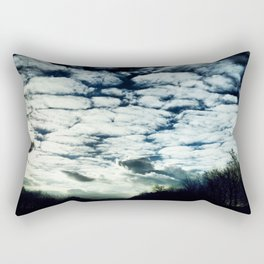 fluffy clouds freespirit Rectangular Pillow