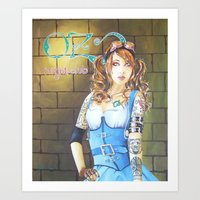 dorothy Art Prints featuring Dorothy by marmaseo