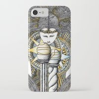 valar morghulis iPhone & iPod Cases featuring Lady of light by Anca Chelaru