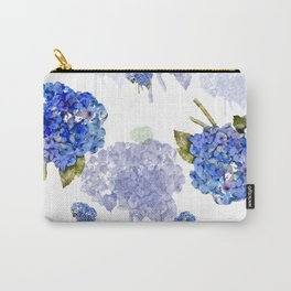 Hydrangea Nosegays Carry-All Pouch