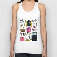 mean girls Tank Tops featuring Mean Girls by Shanti Draws