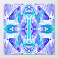 crystal Canvas Prints featuring Crystal by Cs025
