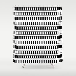 Funnies stripes III Shower Curtain