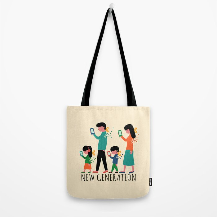 New Generation Tote Bag