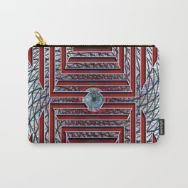 Abstract - Looking at you Carry-All Pouch
