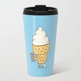 Everyone Poops (Blue) Travel Mug
