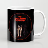 rocky horror picture show Mugs featuring RHPS by Zombie Rust