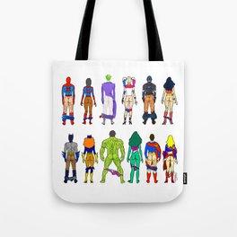 Superhero Butts - Power Couple Tote Bag