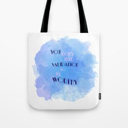 Worthy Tote Bag