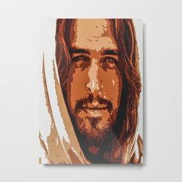 Portrait Jesus Metal Print