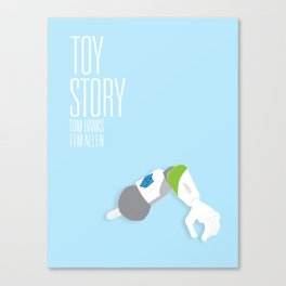 Toy Story Movie Poster. Canvas Print