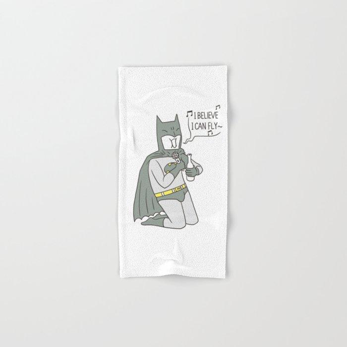 Dark Night Karaoke Hand & Bath Towel