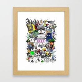 Geek it Up Framed Art Print