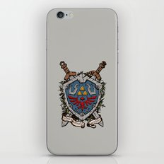 The shield iPhone & iPod Skin