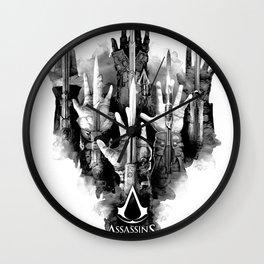 Assassin weapon Wall Clock