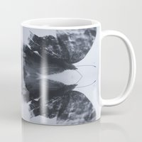 moth Mugs featuring Moth  by Ali Prentice