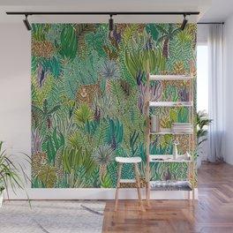 Jungle Tigers by Veronique de Jong Wall Mural