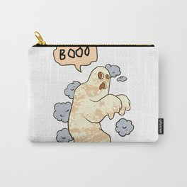 cartoon ghost. Carry-All Pouch