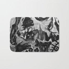The Evil inside - mural 01 Bath Mat