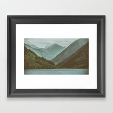 Mountains #1 Framed Art Print