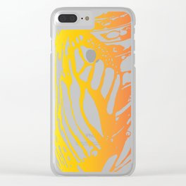 Cannery Row Butterfly Clear iPhone Case