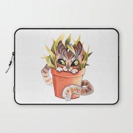 Cat Plant  Laptop Sleeve
