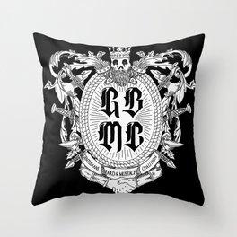 GBMC - The Gentlemans Beard and Mustache Coalition Throw Pillow