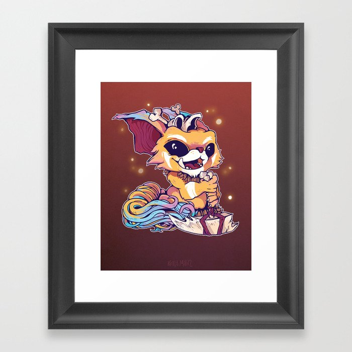 Gnarly Framed Art Print