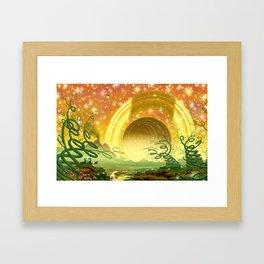 Majestic Night Framed Art Print